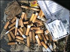 cigarettes are top trash