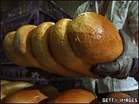 Pan recién sacado del horno