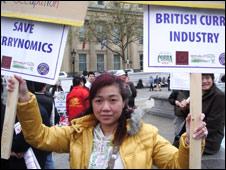 Protester Vanessa Fong