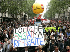 French retirement riots (Oct. 2010)