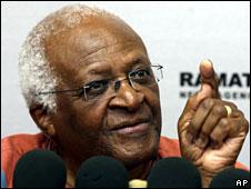 Desmond Tutu, 29 May, 2008