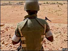 Peacekeeper in Darfur