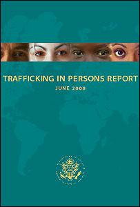 Portada del Informe sobre Tráfico de Personas (gentileza del Departamento de Estado de EE.UU.)
