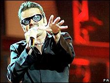 George Michael at Wembley Stadium