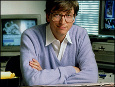 Gates in the early 1990s