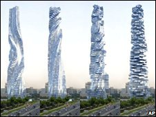dynamic building dubai