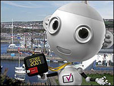 Digital TV mascot Digit Al