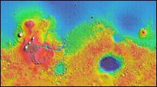 Mars global map (Nasa)