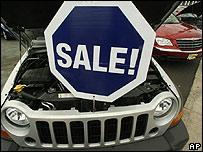 Un Chrysler en rebaja debido a las pocas ventas