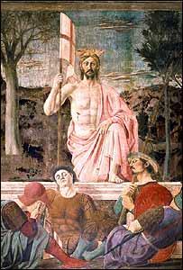 La Resurrección por Piero della Francesca