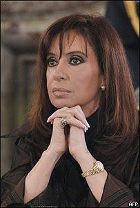 Cristina Fernández de Kirchner, AFP
