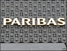 BNP Paribas sign