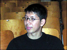 Photo of Min Zin (from the BBC report)