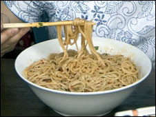 A bowl of noodles (file image)