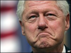 Bill Clinton, file picture