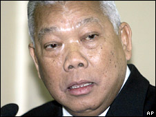 Thai PM Samak Sundaravej. File photo
