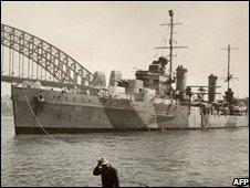 HMAS Sydney, pre-1941