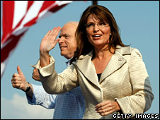 John McCain and Sarah Palin (31 August 2008)