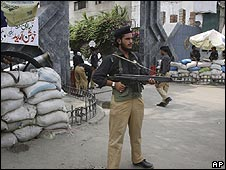 Policeman in Lahore