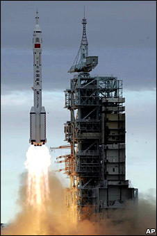 Shenzhou VI launches in 2005