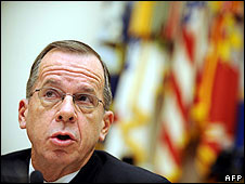 Adm Mike Mullen testifying at the US House of Representatives