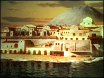 Animation of old Herculaneum