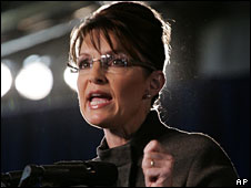 Sarah Palin campaigns in Golden, Colorado, 15 Sept
