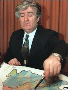 Radovan Karadzic in 1993