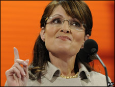 Sarah Palin, file pic