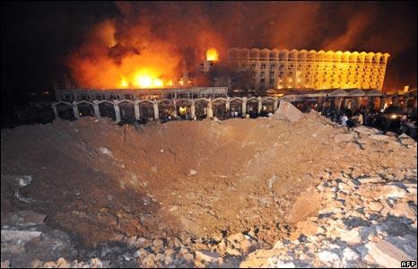 Marriott hotel blast