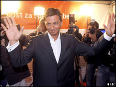 Borut Pahor, leader of the opposition Social Democrats