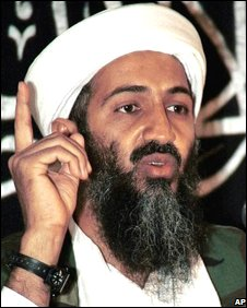 Undated file image of Osama Bin Laden