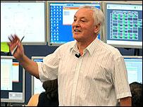 Robert Aymar, director general del CERN.