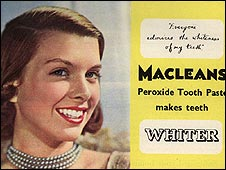 British toothpaste advert