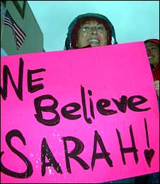 Palin supporter in Anchorage
