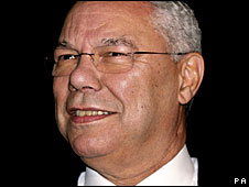 Profile of Colin Powell click on photo
