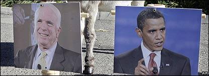 Fotos de John McCain y Barack Obama