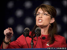 Sarah Palin campaigns in Dubuque, Iowa, 3 Nov
