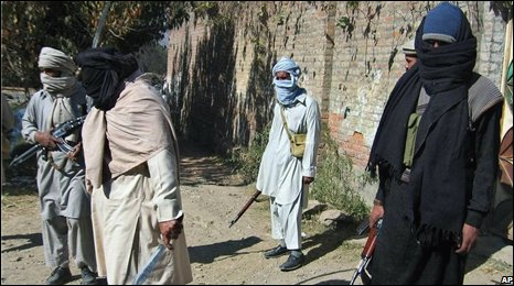 Fighters of Swat's leading militan, Maulana Fazlullah