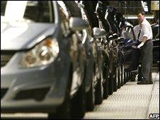 German car production line