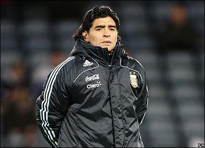 Jurulatih Maradona