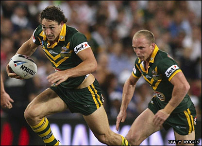 A mixed day for Billy Slater and Darren Lockyer