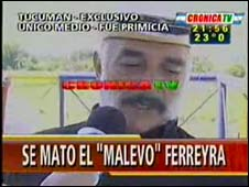 Mario Ferreyra on Cronica TV