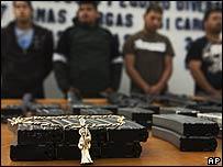 Incautación de armas en Tijuana