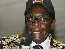 Zimbabwe is mine says the senile one