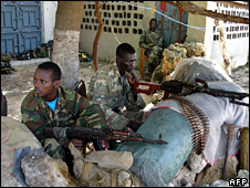 Ethiopian troops in Somalia (June 2008)