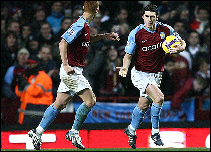 Sidwell and Barry celebrate Villas first but are eager to get on with the comeback.