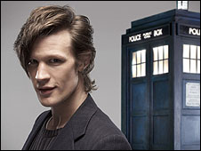 The new Doctor (www.bbc.co.uk)