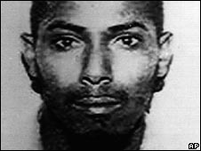 An undated photograph of Sheikh Ahmed Salim Swedan released in 1998 by the US district attorney's office