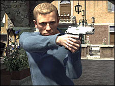 Scene from the Quantum of Solace game